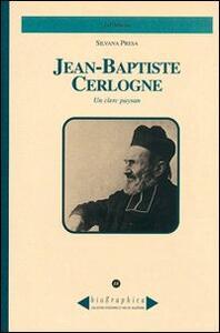 Jean-Baptiste Cerlogne. Un clerc paysan - Silvana Presa - copertina