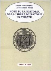 Note su la Historia de la Libera Muratoria in Theate