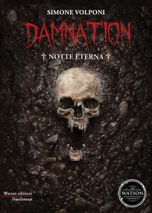Damnation. Notte eterna - Simone Volponi - copertina