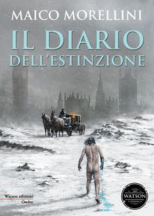 Il diario dell'estinzione - Maico Morellini - copertina