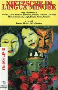 Nietzsche in lingua minore - copertina