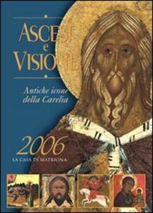 Ascesi e visione. Antiche icone della Carelia - Vladimir N. Platonov - copertina