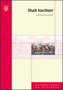 Studi tacitiani - Antonio Marchetta - copertina