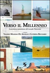 Verso il millennio. Letteratura statunitense del secondo Novecento - copertina