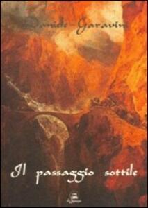 Il passaggio sottile - Daniele Garavini - copertina