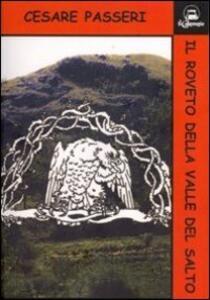 Il roveto della valle del Salto - Cesare Passeri - copertina
