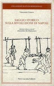 Saggio storico sulla rivoluzione di Napoli. Ediz. critica - Vincenzo Cuoco - copertina