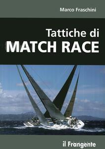 Tattiche di Match Race - Marco Fraschini - copertina