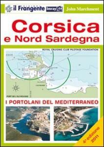 Corsica e nord Sardegna - John Marchment - copertina