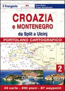 Lpgcsostenible.es Croazia e Slovenia. Portolano cartografico. Vol. 2: Dda Split a Ulcin. Image
