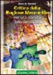 Comunità e decrescita. Critica della ragion mercantile dal sistema dei consumi globali alla civiltà dell'economia globale - Alain de Benoist - copertina
