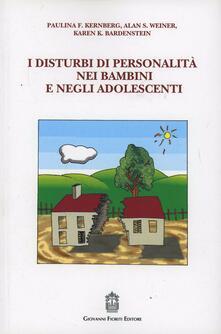 Voluntariadobaleares2014.es I disturbi di personalità nei bambini e negli adolescenti Image