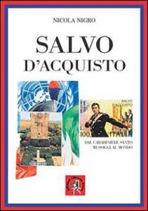 Salvo D'Acquisto. Il carabiniere santo - Nicola Nigro - copertina