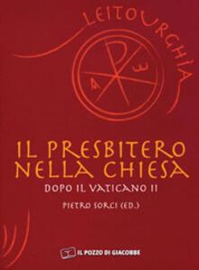 Il presbitero nella Chiesa dopo il Vaticano II - copertina