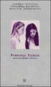 Femminile plurale. Percorsi tra identità e differenza - copertina