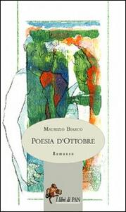 Poesia d'ottobre - Maurizio Bianco - copertina