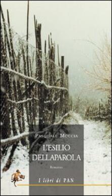 L' esilio della parola - Pasquale Moccia - copertina