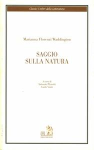 Saggio sulla natura - Marianna Florenzi Waddington - copertina