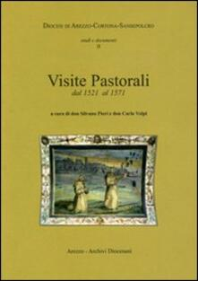 Visite pastorali dal 1521 al 1571 - copertina