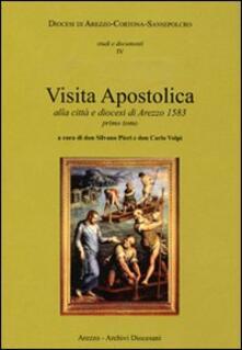Visita apostolica alla città e diocesi di Arezzo 1583 - copertina