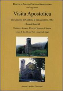 Visita apostolica alle diocesi di Cortona e Sansepolcro 1583 - copertina