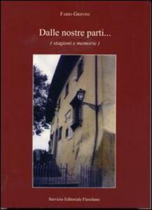 Dalle nostre parti... (stagioni e memorie) - Fabio Grifoni - copertina