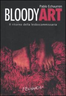 Winniearcher.com Bloody art. Il ritorno della lesbocommissaria Image