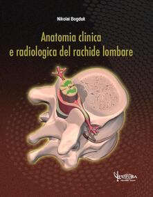 Winniearcher.com Anatomia clinica e radiologica del rachide lombare Image