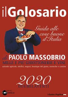 Voluntariadobaleares2014.es Il golosario 2020. Guida alle cose buone d'Italia Image