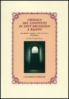 Cefalufilmfestival.it Cronaca del convento di Sant'Arcangelo a Bajano Image