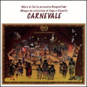 Carnevale. Mappa da collezione