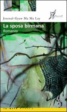 La sposa birmana - Journal-Gyaw Ma Ma Lay - copertina