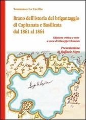 Brano dell'istoria del brigantaggio di Capitanata e Basilicata dal 1861 al 1864