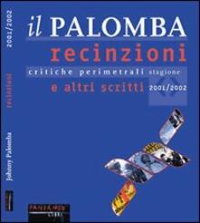 Letterarioprimopiano.it Il Palomba. Recinzioni e altri scritti. Critiche perimetrali dei migliori film della stagione 2001/2002 Image