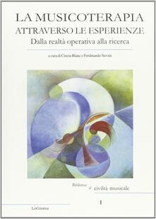 Filippodegasperi.it La musicoterapia attraverso le esperienze. Dalla realtà operativa alla ricerca Image