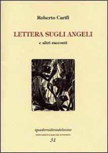 Lettera sugli angeli e altri racconti