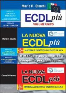 Vitalitart.it Kit completo per la nuova ECDL: ECDL più volume unico-La nuova ECDL più moduli 1 e 2-La nuova ECDL più IT Security e online collaboration. Con 3 CD-ROM Image