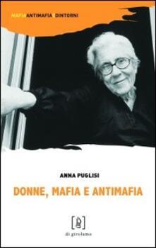Donne, mafia e antimafia - Anna Puglisi - copertina
