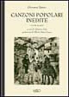 Lpgcsostenible.es Canzoni popolari inedite in dialetto sardo centrale ossia logudorese. Vol. 4 Image