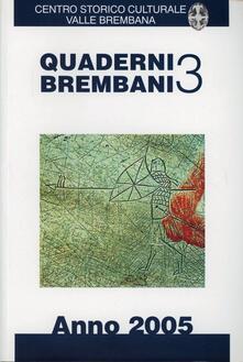 Writersfactory.it Quaderni brembani (2005). Vol. 3 Image