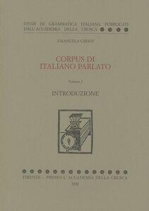Corpus di italiano parlato. Con CD