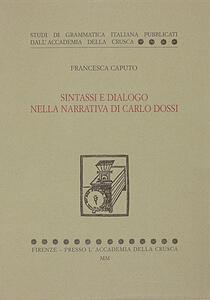 Sintassi e dialogo nella narrativa di Carlo Dossi