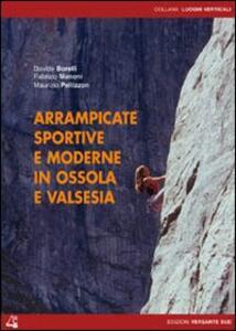 Arrampicate sportive e moderne in Ossola e Valsesia