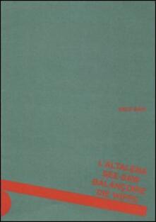 L' altalena. Edizioni multilingue - Enzo Mari - copertina