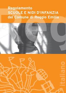 Regolamento scuole e nidi d'infanzia del Comune di Reggio Emilia