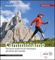 Incantevoli Dolomiti. Escursioni, nordic walking. Itinerari per tutti da percorrere in compagnia - Maurizio Fernetti - copertina