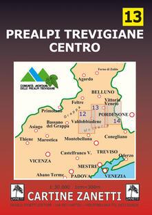 Voluntariadobaleares2014.es Prealpi trevigiane centro 1:30.000. Ediz. illustrata Image