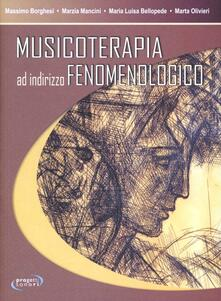 Musicoterapia ad indirizzo fenomenologico - copertina