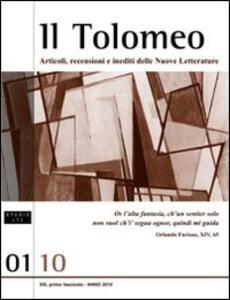 Il Tolomeo. Articoli, recenzioni e inediti delle nuove letterature. Ediz. italiana e inglese