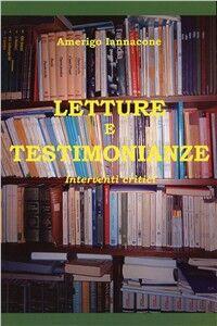 Letture e testimonianze. Interventi critici